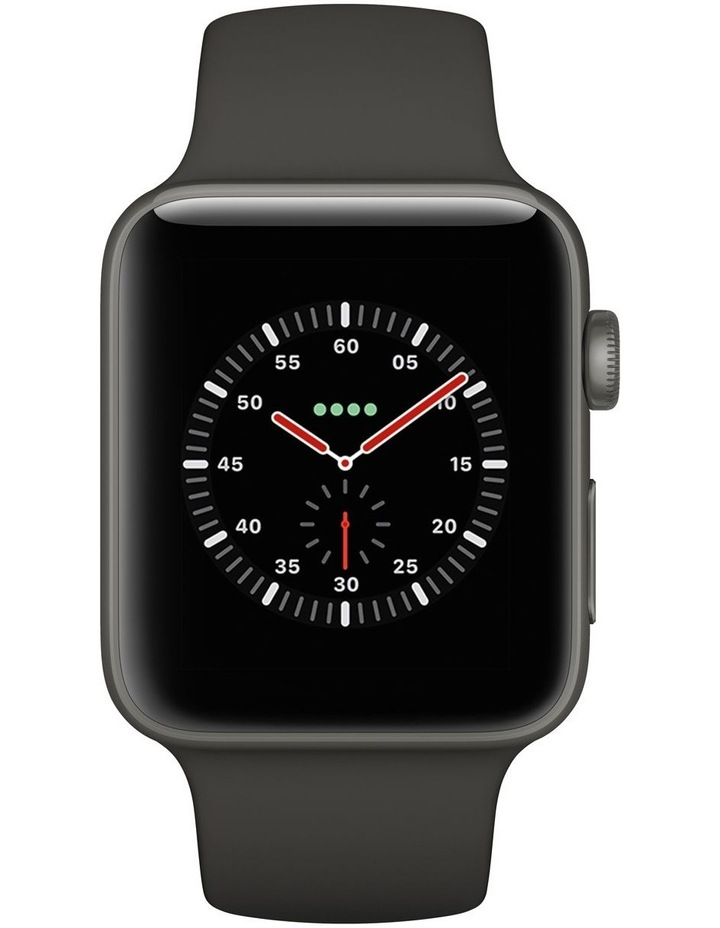 Apple Watch Edition GPS   Cellular 42mm Grey Ceramic Case with Grey/Black Sport Band image 2