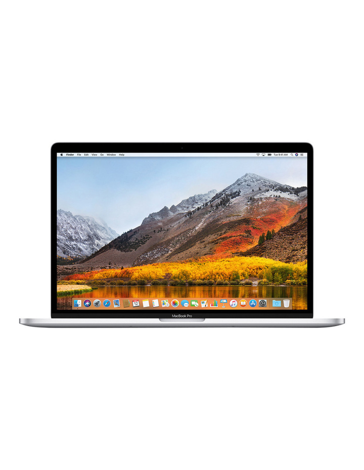 MacBook Pro 15 inch with Touch Bar 512GB - Silver image 1