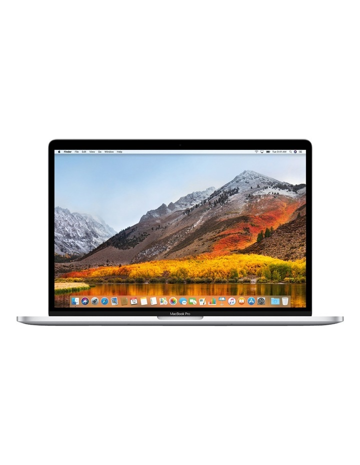 MacBook Pro 15-inch with Touch Bar 512GB Silver image 1