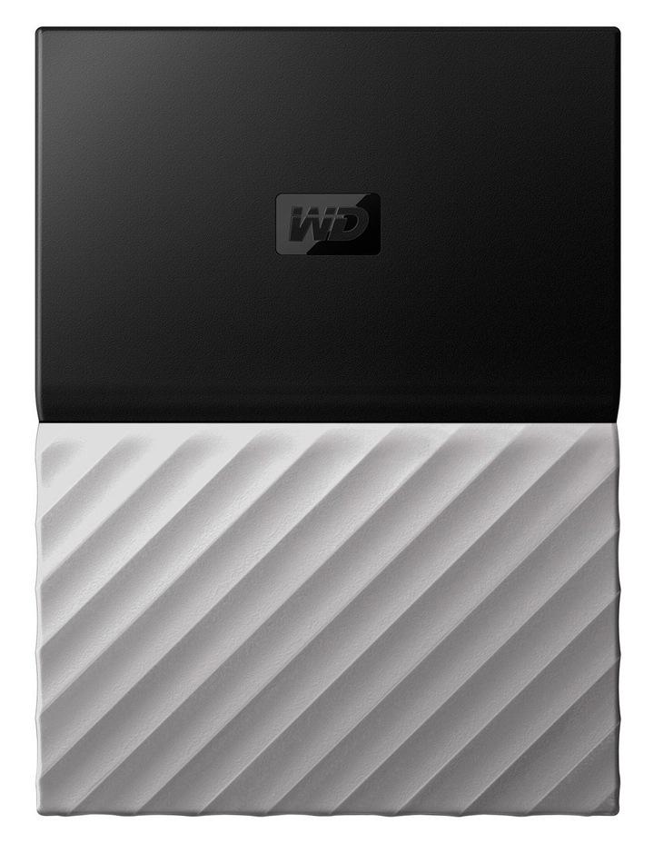 2TB My Passport Ultra Portable Hard Drive - Black/Grey image 1