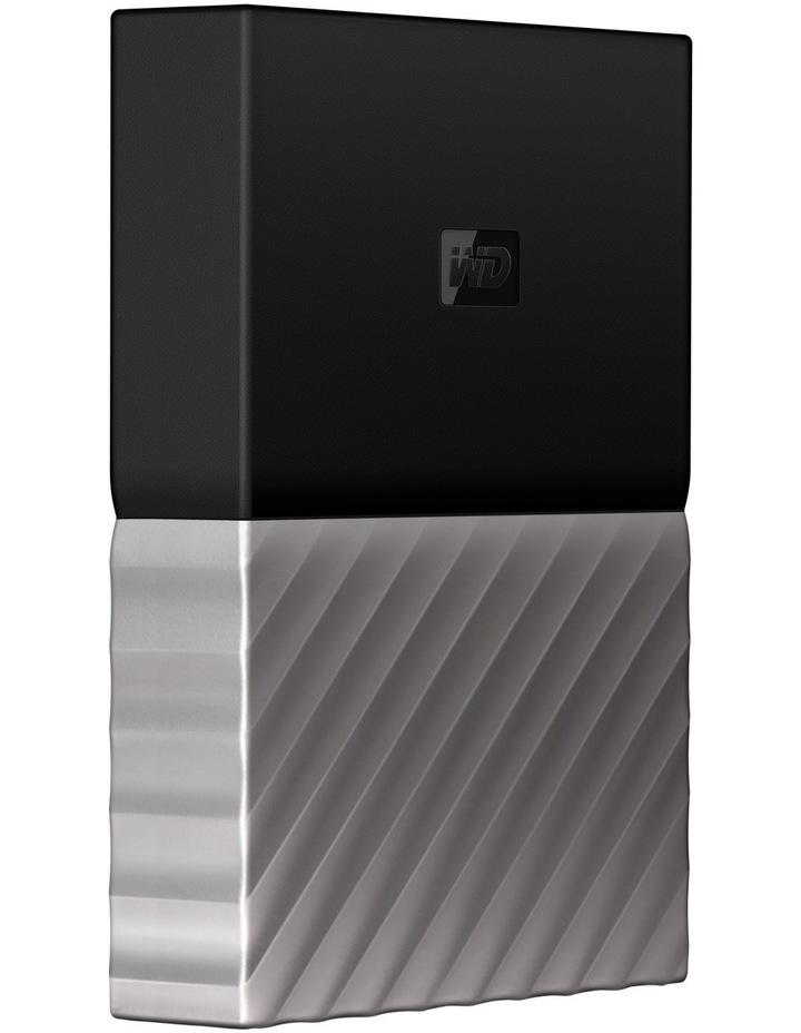 2TB My Passport Ultra Portable Hard Drive - Black/Grey image 2