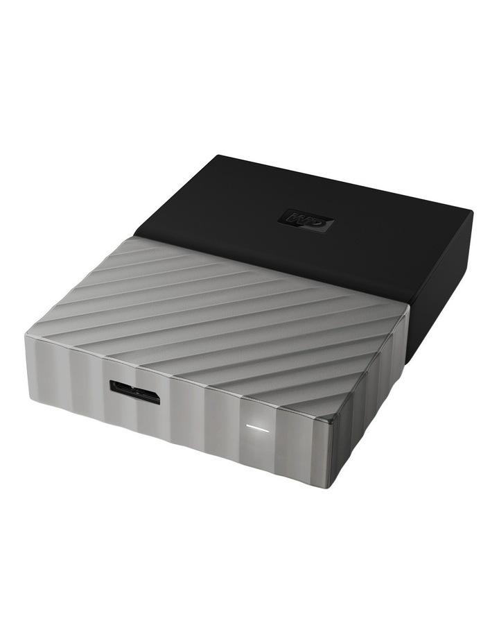 2TB My Passport Ultra Portable Hard Drive - Black/Grey image 3