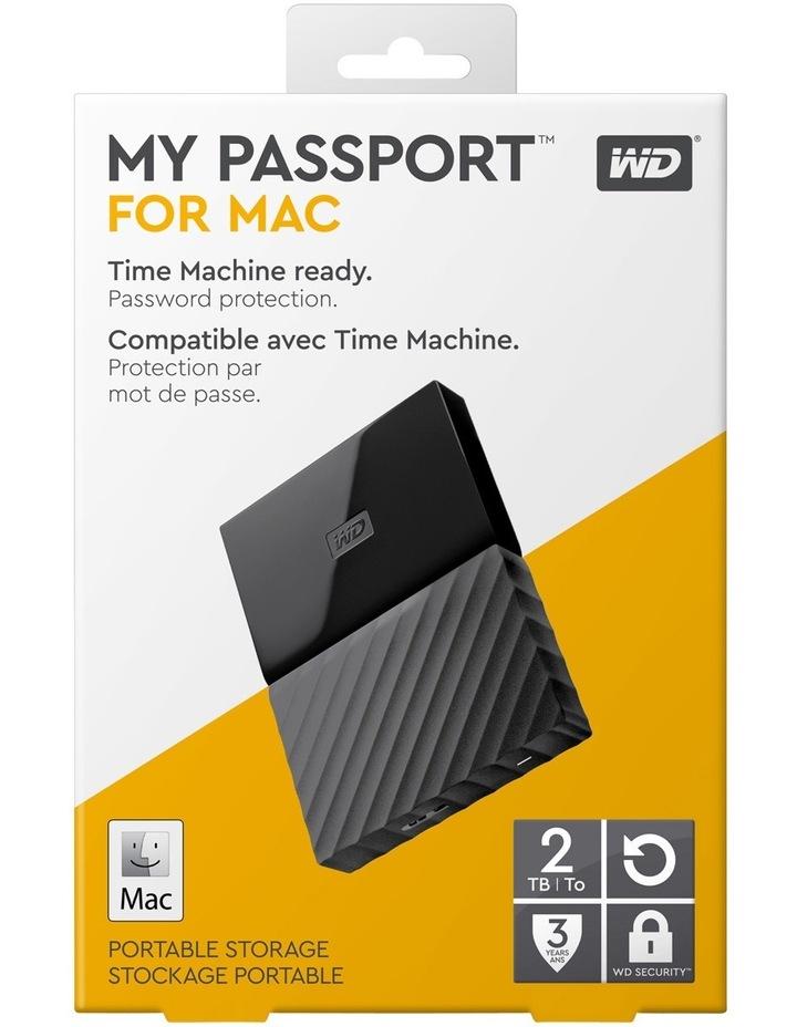 Western Digital 2TB My Passport for Mac Portable Hard Drive