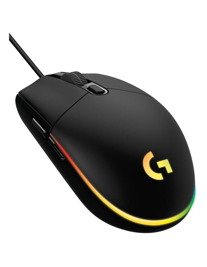 Logitech G203 Black Wired Gaming Mouse image 1