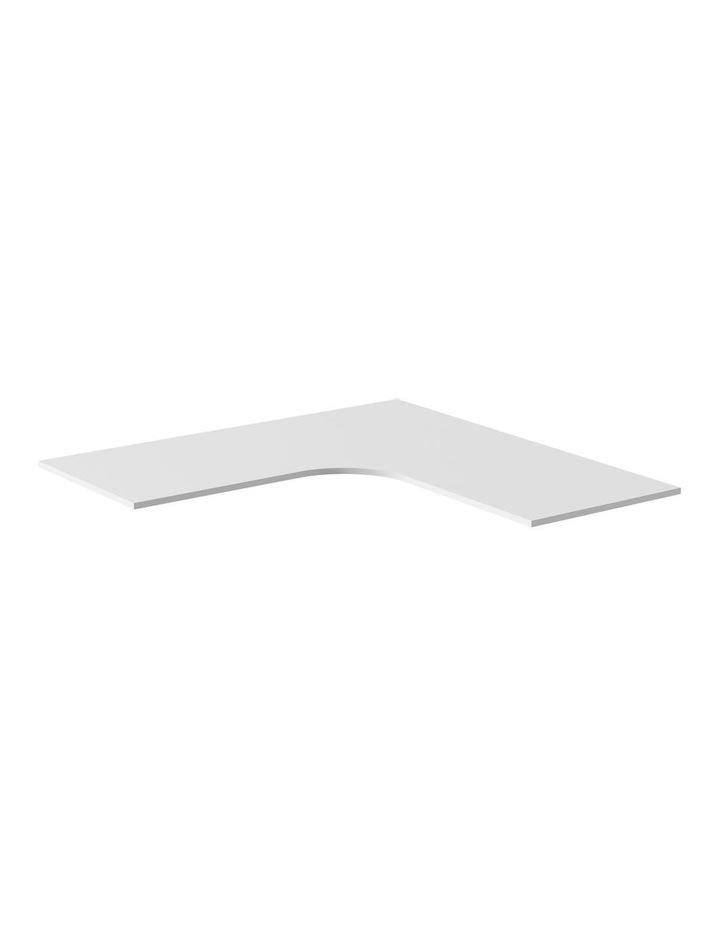1800 x 1800 x 750 x 25mm 90 Corner Desktop White image 1