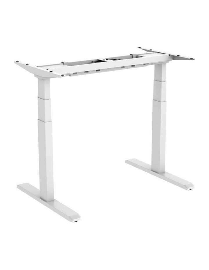 Electric Dual Motor Standard Desk Frame White EED-623DW image 2