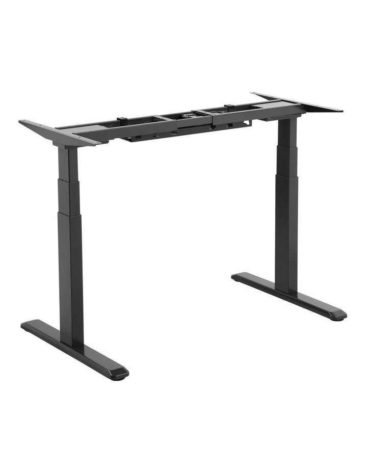 Electric Dual Motor Standard Desk Frame Black EED-623DB image 2