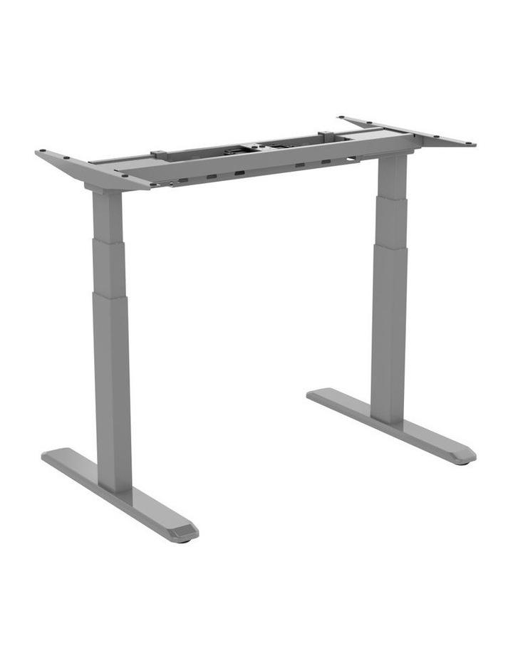 Electric Dual Motor Standard Desk Grey Frame Only image 2