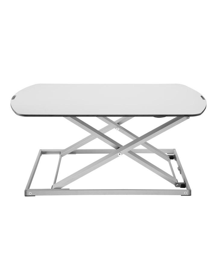 Ultra-Slim Height Adjustable Laptop/Monitor Riser White EDT-S07.1W image 2