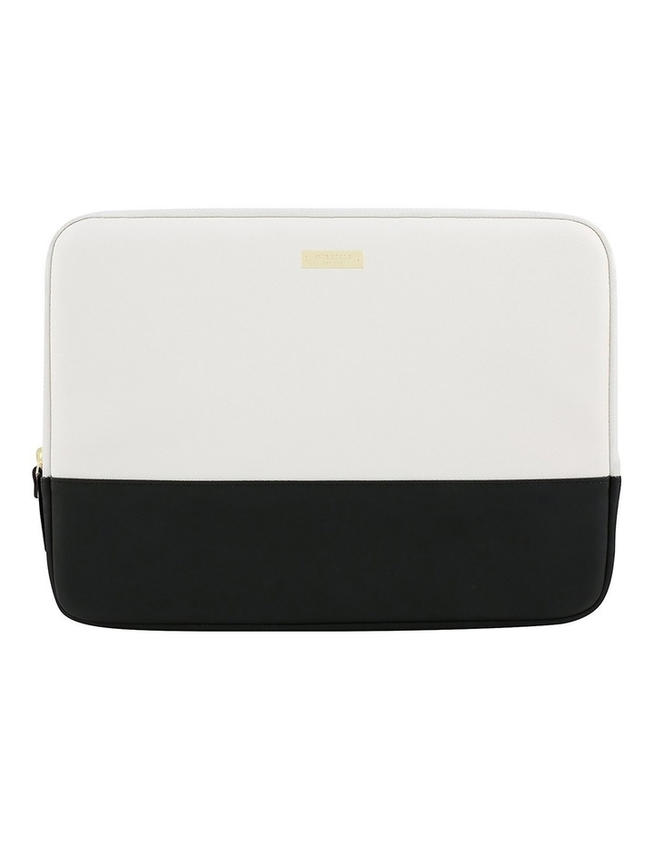 new concept 6f52e d42ce Kate Spade Colour-Block Sleeve for 13 inch Laptop - Black / Cement / Gold