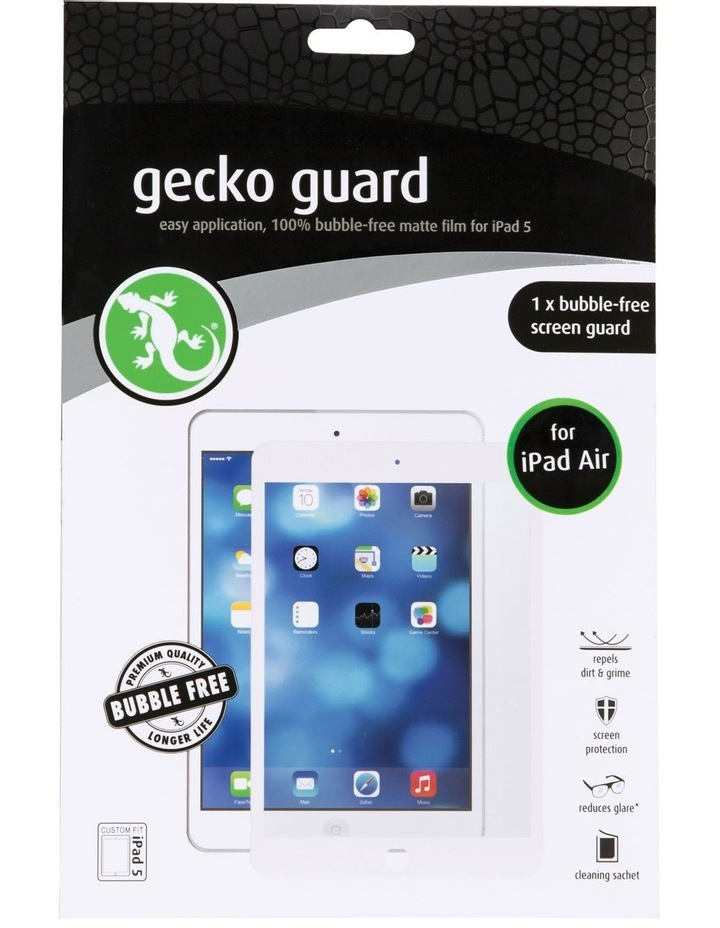 iPad Air Bubble-Free Screen Guard White - 1 Pack image 1