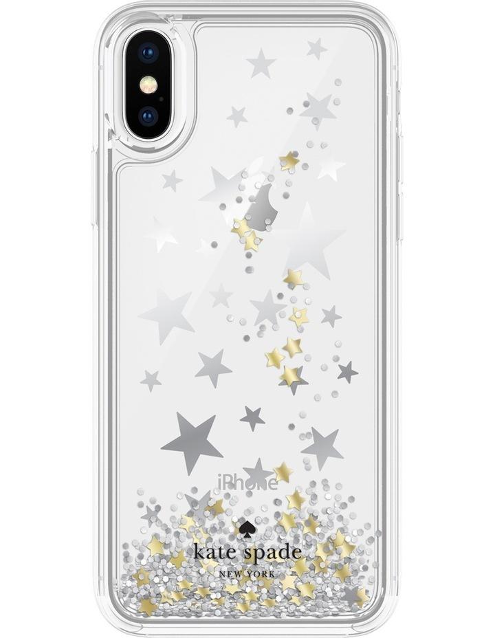 Case for iPhone X - Liquid Glitter Stars image 1