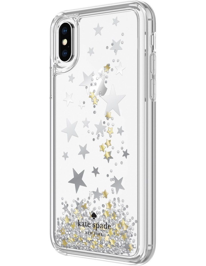 Case for iPhone X - Liquid Glitter Stars image 2