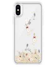 Kate Spade - Case for iPhone X - Liquid Glitter Champagne