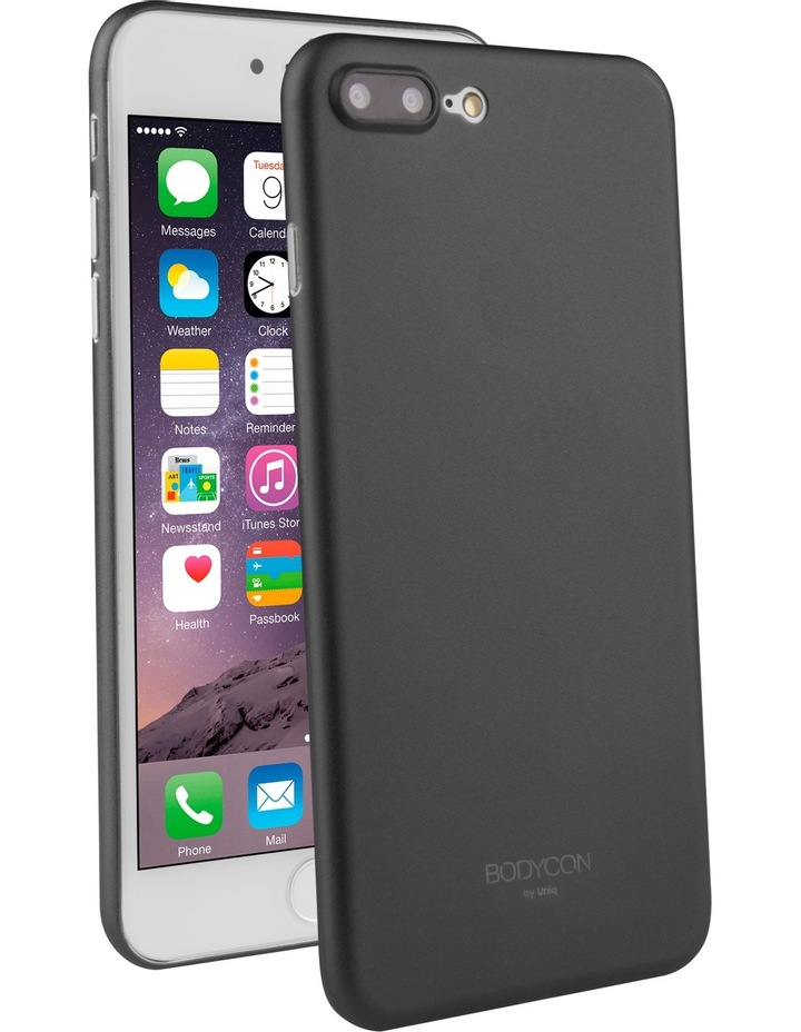 Bodycon Case for iPhone 8 Plus - Midnight Black image 1