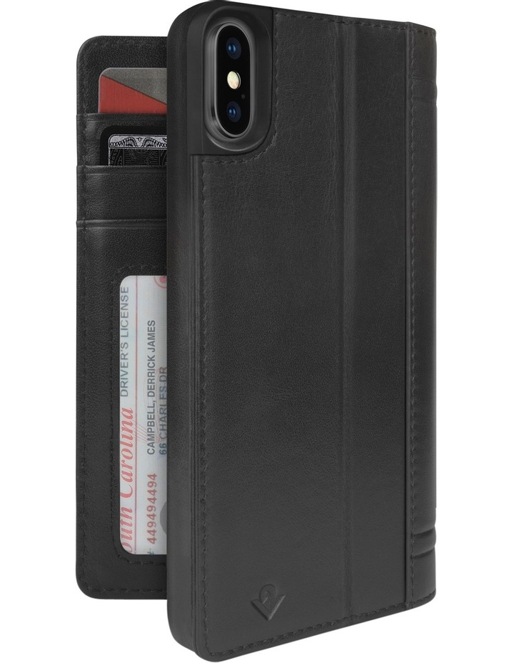 Journal Case for iPhone X  - Black image 1
