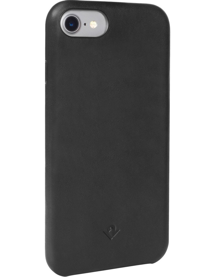 Relaxed Leather Case for iPhone 8 / 7 - Black image 1