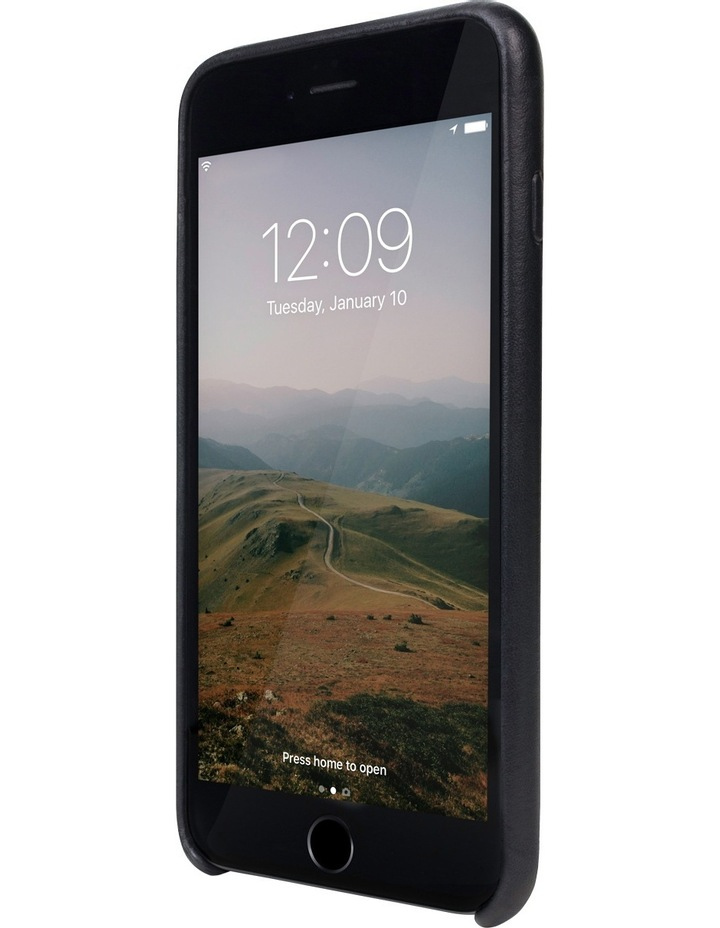 Relaxed Leather Case for iPhone 8 Plus / 7 Plus - Black image 2