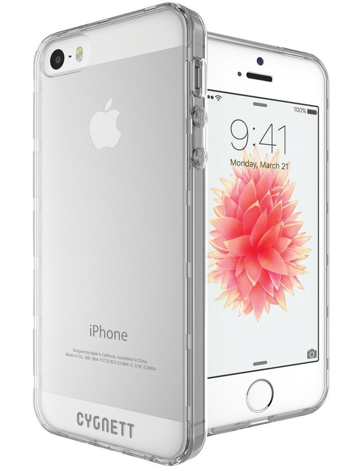 AeroShield Case iPhone SE / 5s / 5 - Crystal image 5