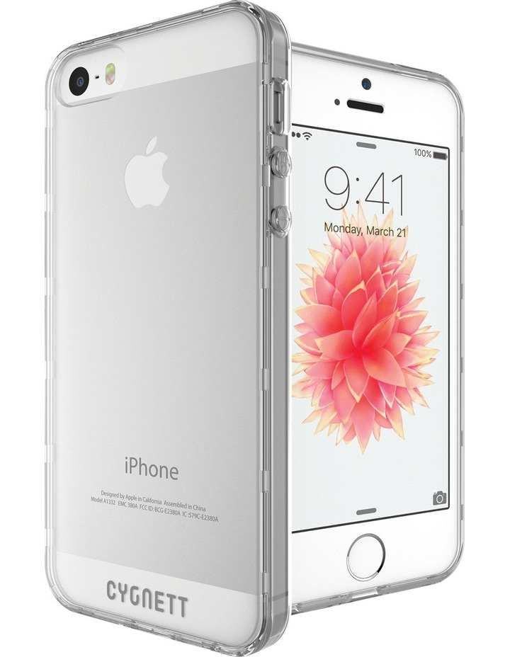 AeroShield Case iPhone SE / 5s / 5 - Crystal image 6