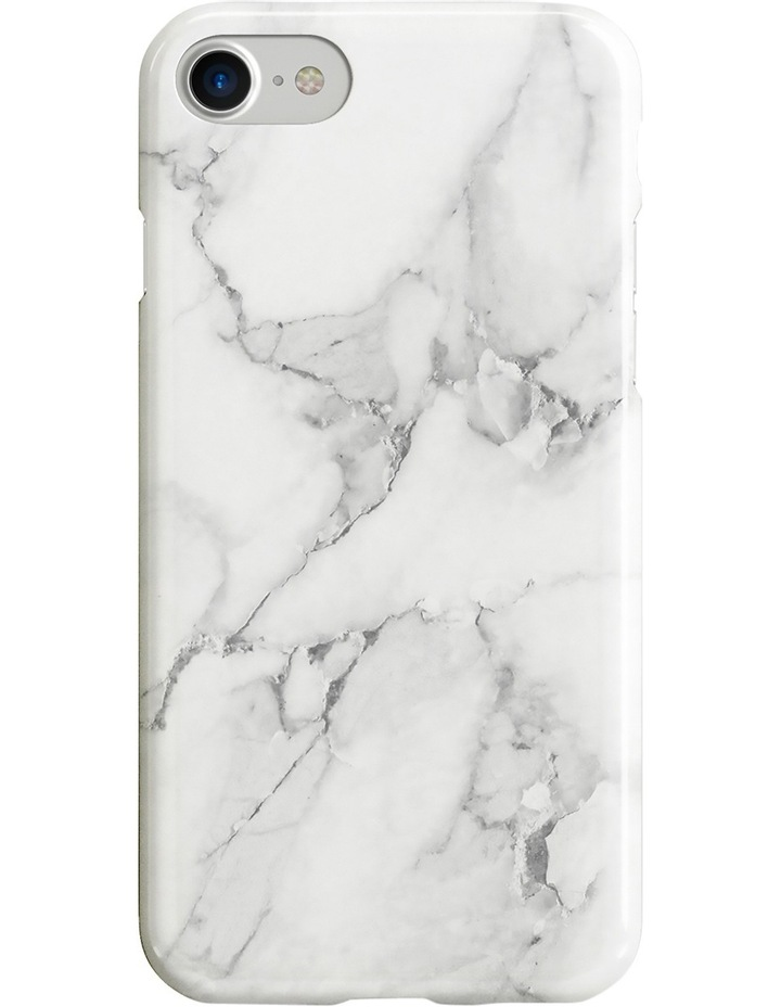 Recover White Marble Case for iPhone 8/7/6 image 1