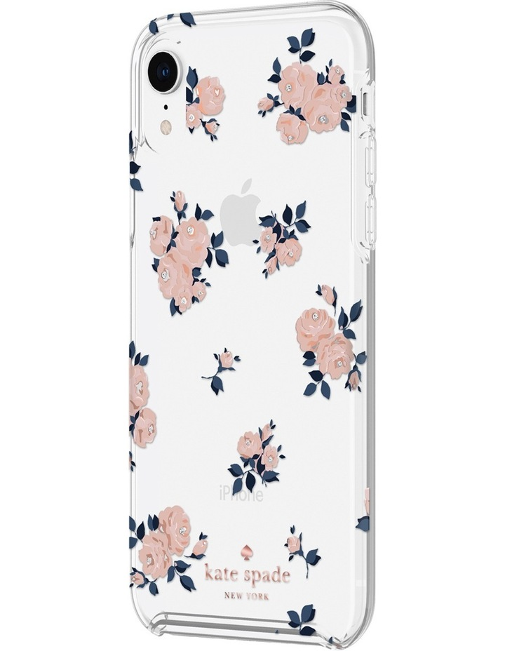 competitive price e3054 eea70 kate spade new york Hardshell Case for iPhone XR - Happy Rose Pink/Clear