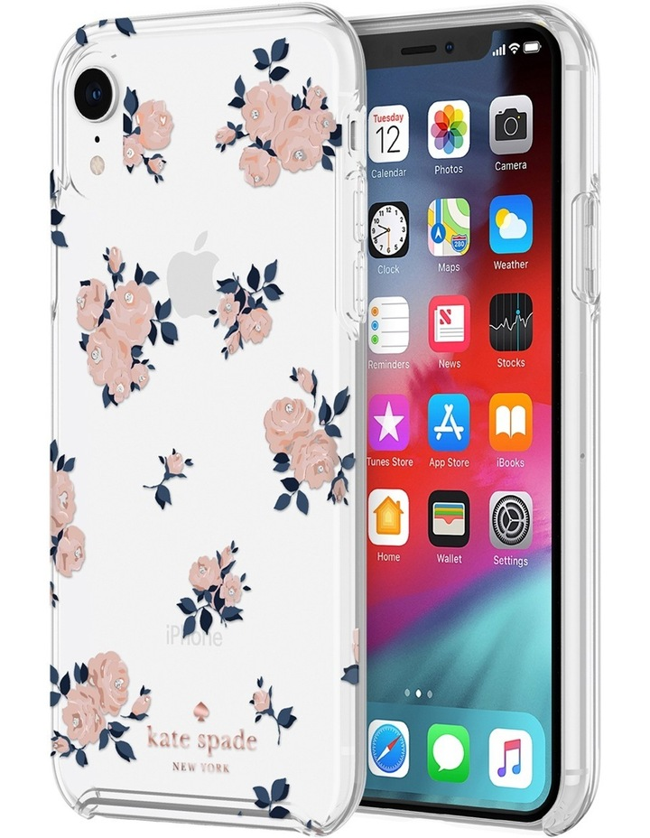 Hardshell Case for iPhone XS - Happy Rose Pink/Clear image 1