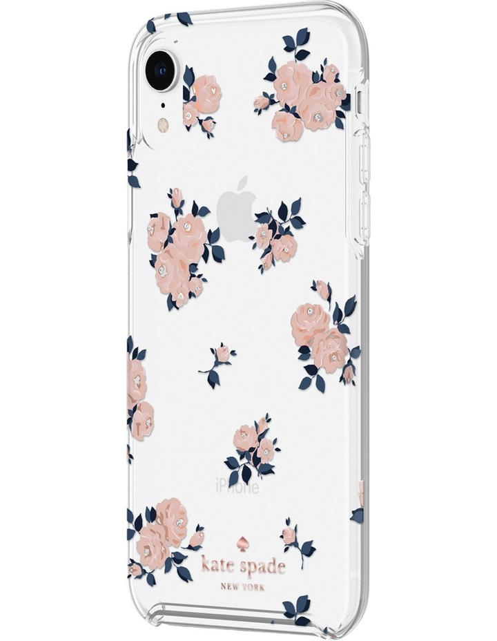 Hardshell Case for iPhone XS - Happy Rose Pink/Clear image 2
