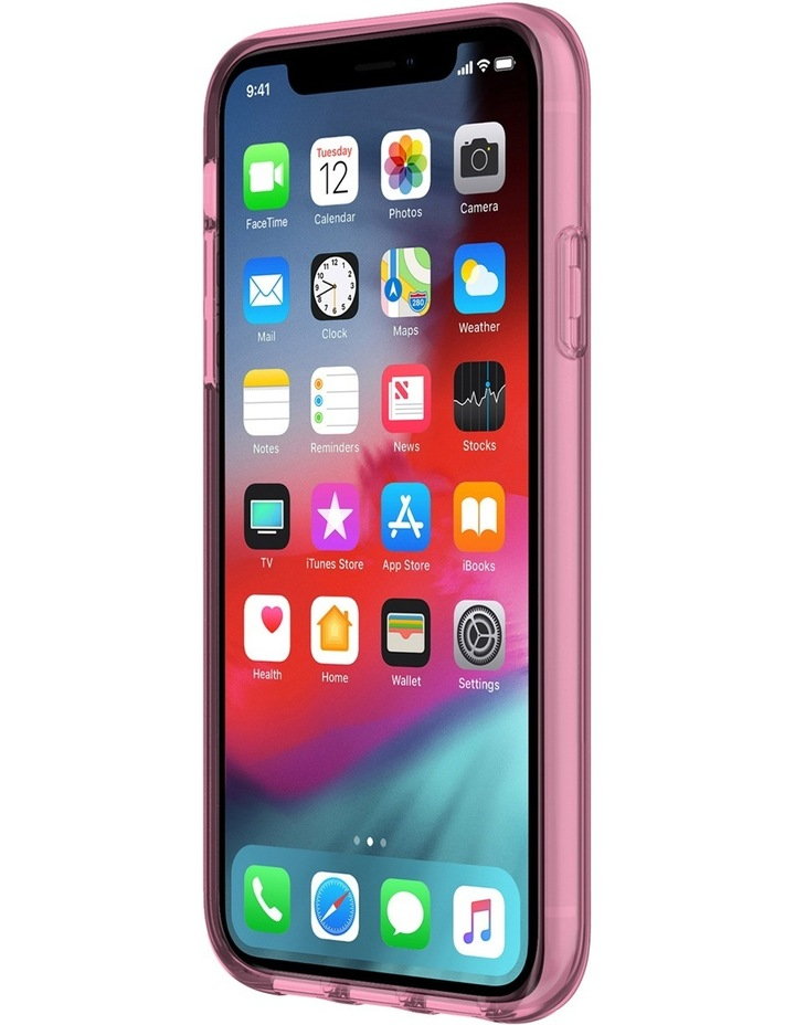 Flexible Case for iPhone XR - Pink Tinted TPU image 3