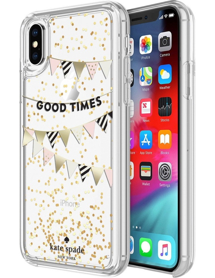 Case for iPhone XR - Liquid Glitter Good Times image 1