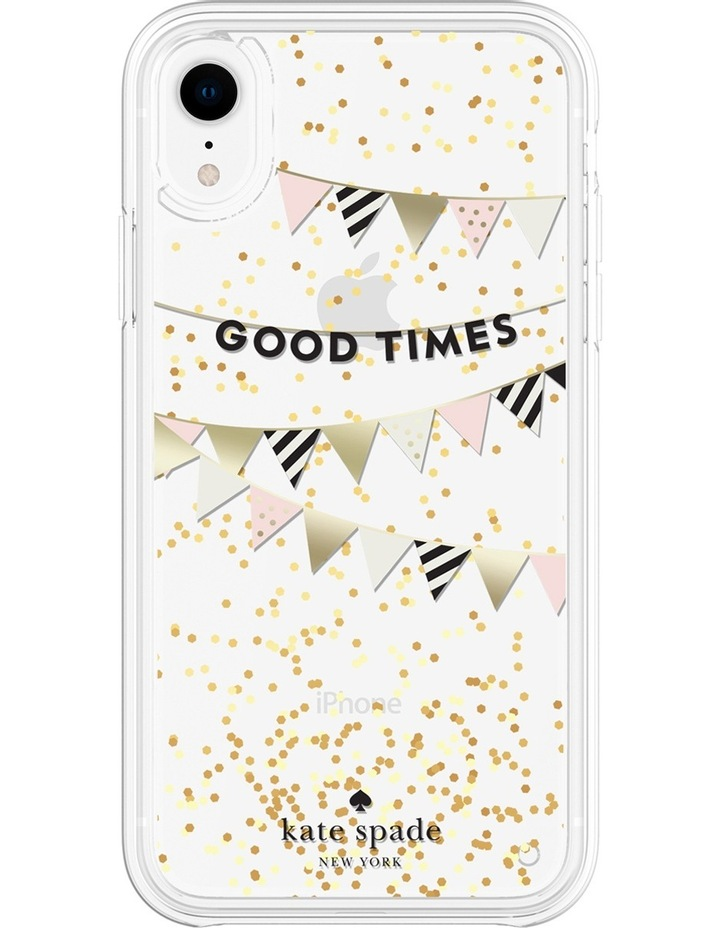 Case for iPhone XR - Liquid Glitter Good Times image 2