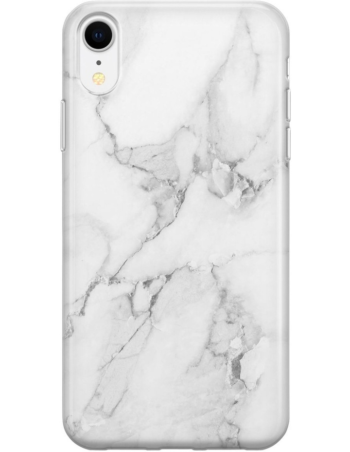Recover White Marble Case for iPhone XR image 1