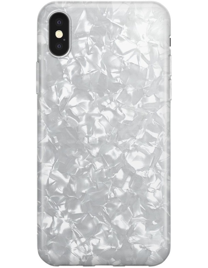 Recover White Shimmer Case for iPhone Xs Max image 1