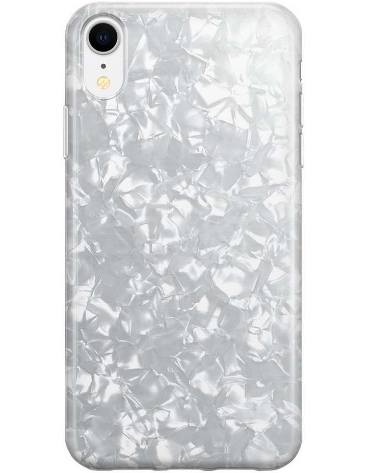 Recover White Shimmer Case for iPhone XR image 1