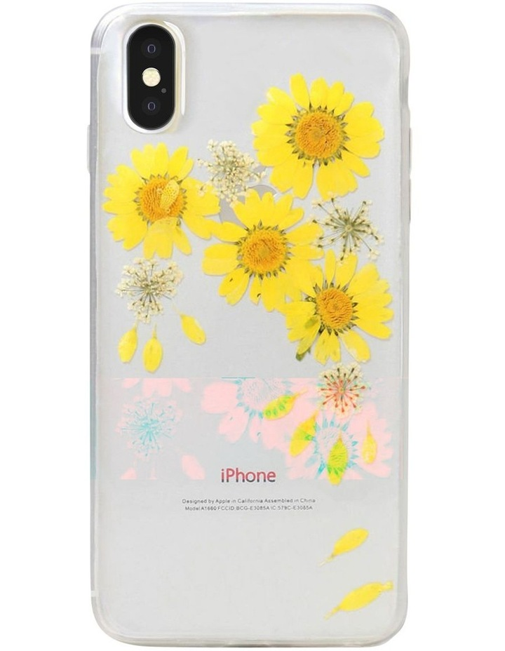 Recover Floral Yellow Case for iPhone X/Xs image 1
