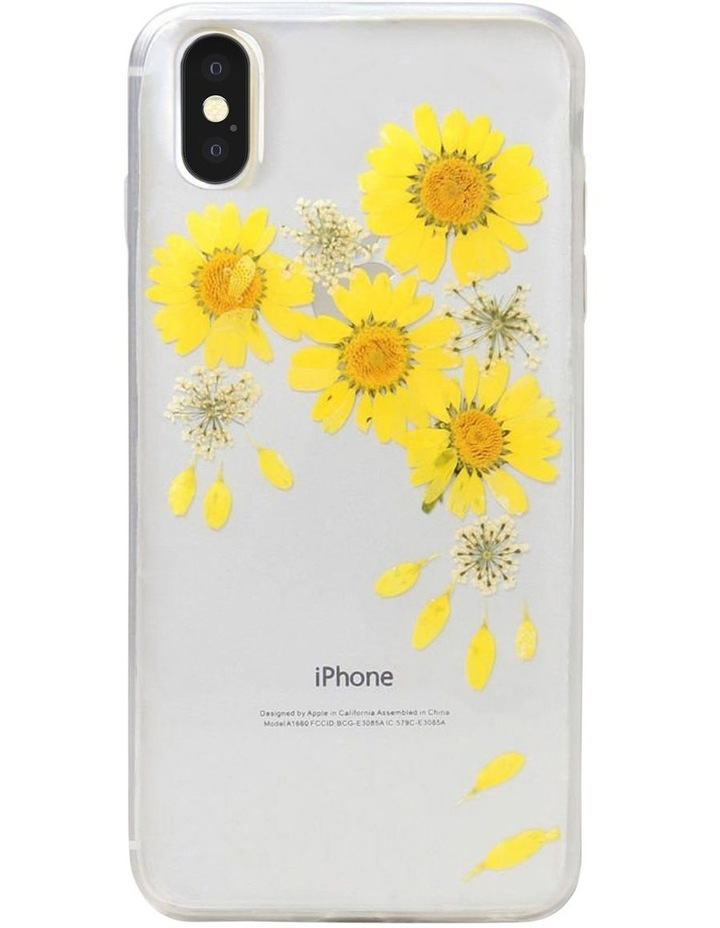 Recover Floral Yellow Case for iPhone Xs Max image 1