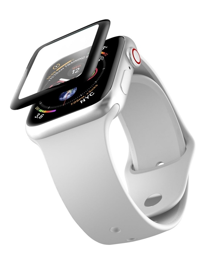 Cygnett RealCurve 40mm 3D Double Tempered Side Glue Glass for Apple Watch 4 image 4