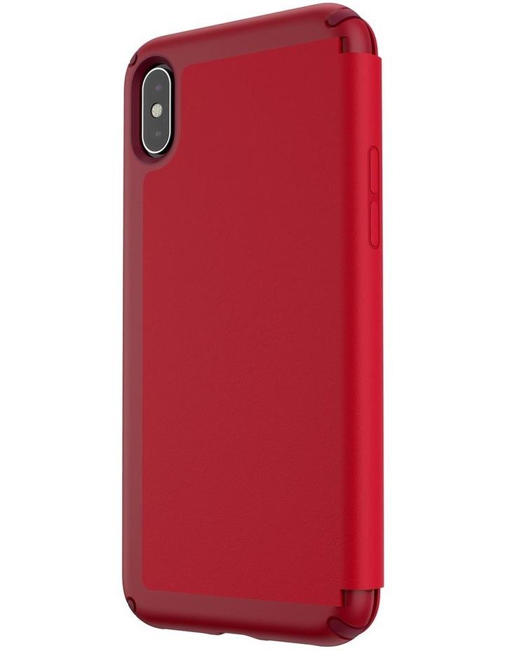 iPhone XS Max Presidio Folio Leather Red image 3