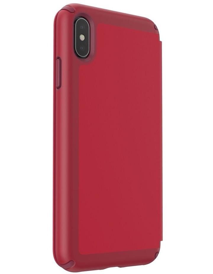 iPhone XS Max Presidio Folio Leather Red image 4