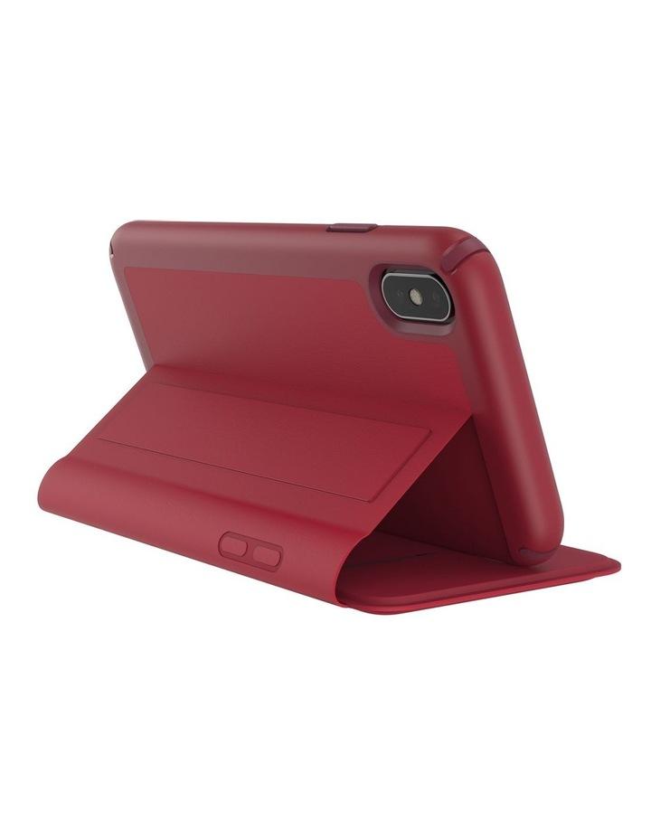 iPhone XS Max Presidio Folio Leather Red image 6