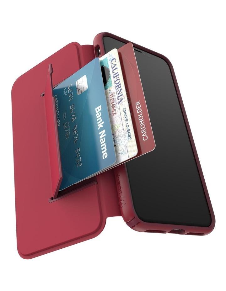 iPhone XS Max Presidio Folio Leather Red image 7