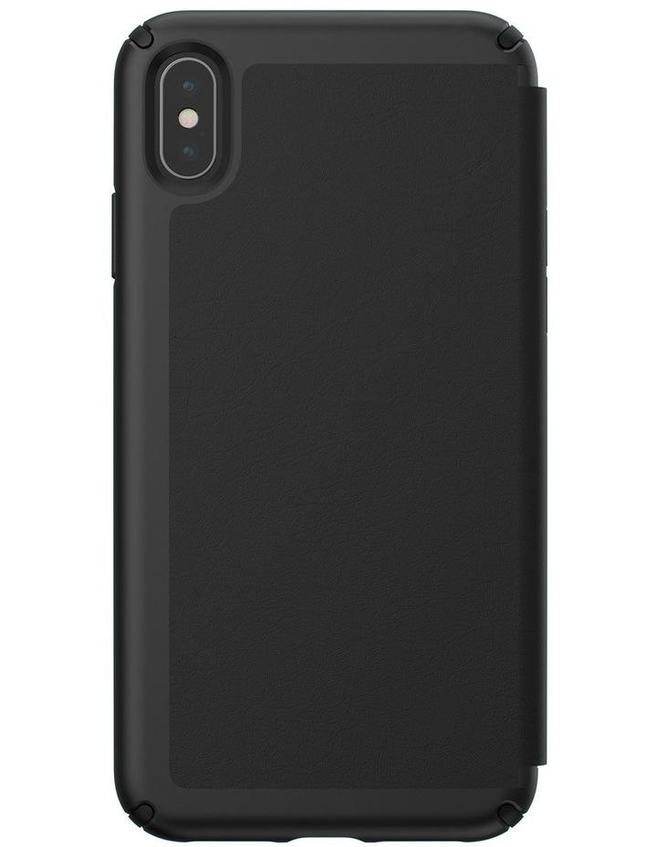 iPhone XS Max Presidio Folio Leather Black image 2