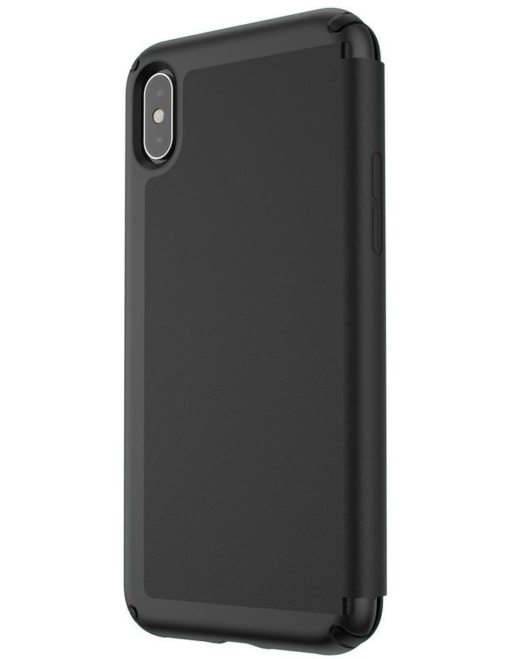 iPhone XS Max Presidio Folio Leather Black image 3