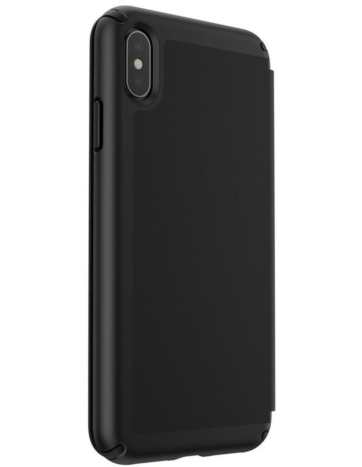 iPhone XS Max Presidio Folio Leather Black image 4