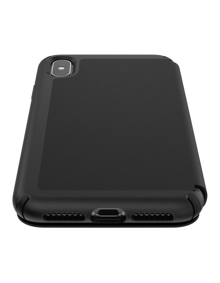 iPhone XS Max Presidio Folio Leather Black image 5