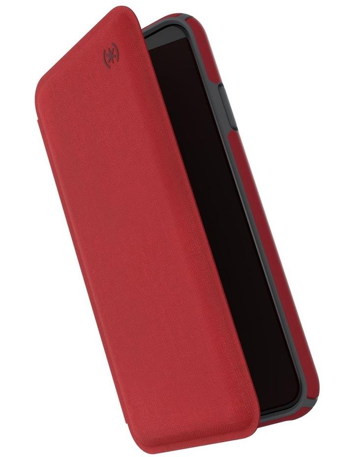 iPhone XS Presidio Folio Leather Red image 1