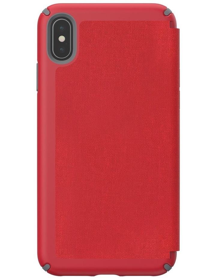iPhone XS Presidio Folio Leather Red image 2