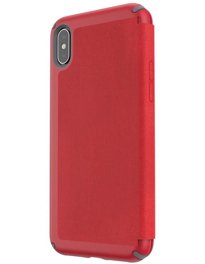 iPhone XS Presidio Folio Leather Red image 3