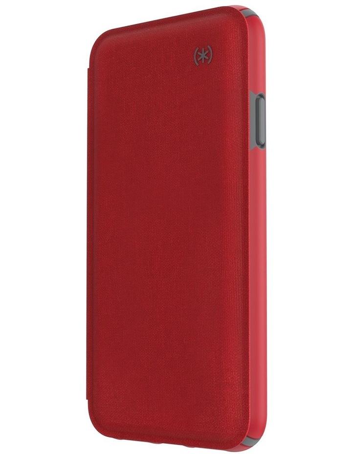iPhone XS Presidio Folio Leather Red image 4