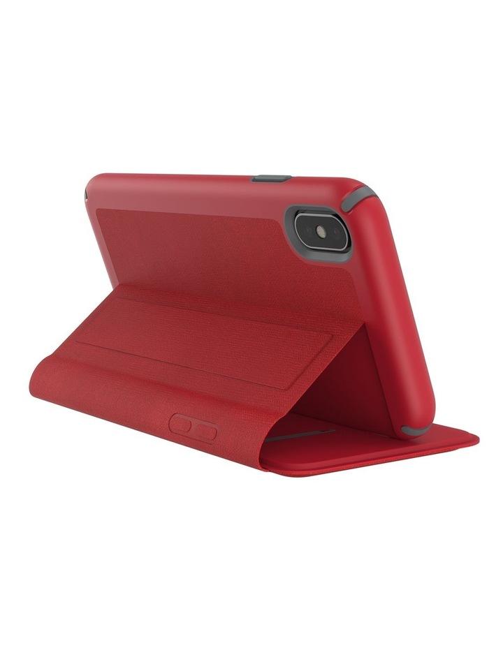 iPhone XS Presidio Folio Leather Red image 6